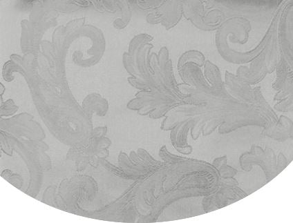 Acanthus Table Linen by Sferra elegant tablecloths, placemats and napkins fig linens Grey