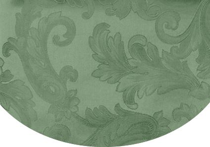 Acanthus Table Linen by Sferra elegant tablecloths, placemats and napkins fig linens Sage Green