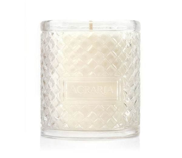 Agraria Mediterranean Jasmine Scented Crystal Candle - Fig Linens