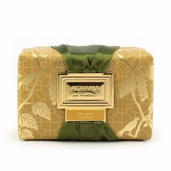 Agraria Golden Cassis Luxury Bath Bar Wrapped