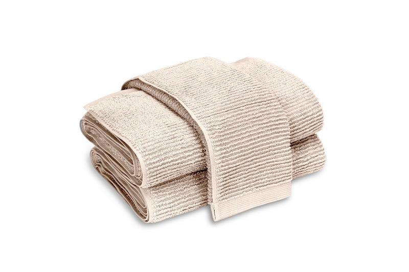 Matouk Aman Bath Towels in Nude | Fig Linens