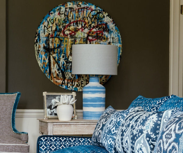 William Yeoward Annuziata Peacock Lamp | Fig Linens and Home