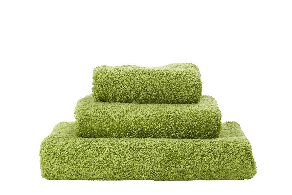 Set of Abyss Super Pile Towels in Apple Green 165