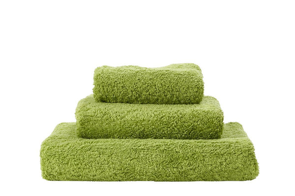 Abyss Super Pile Apple Green Towels - Fig Linens