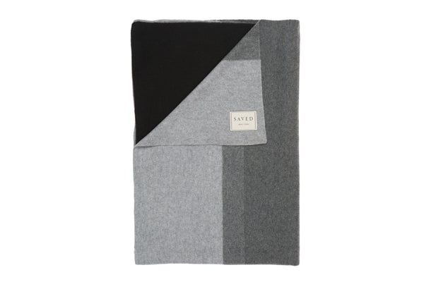 Array Charcoal Throw - Saved New York