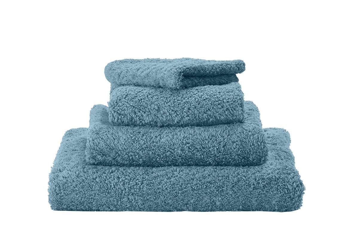 Set of Abyss Super Pile Towels in Atlantic