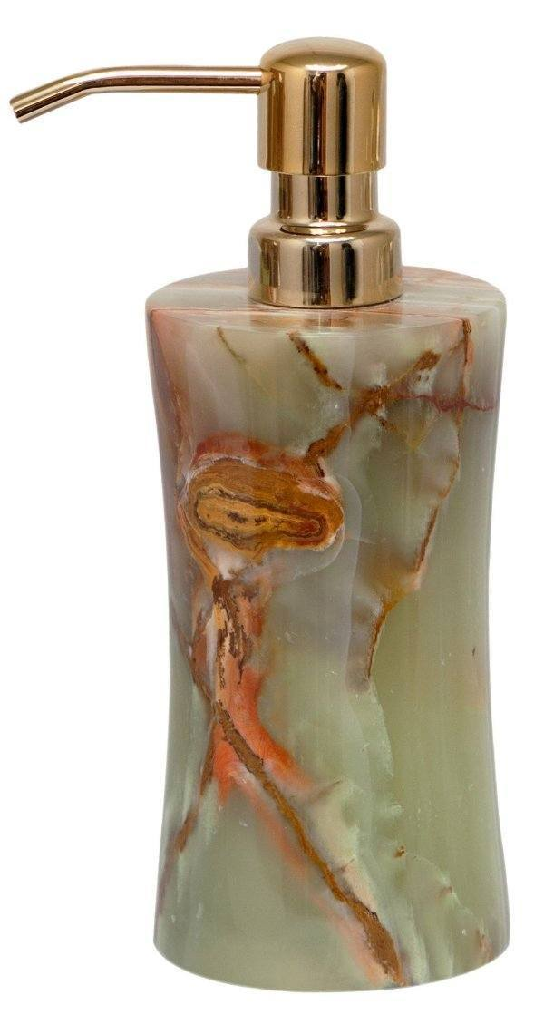 Whirl Green Onyx Soap Dispenser