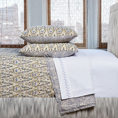 Lina Lapis Quilt Set by John Robshaw | Fig Linens and Home