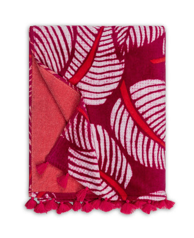 Costa Rica Dragon Fruit Beach Towel | Matouk Schumacher at Fig Linens