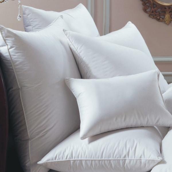 Bernina White Goose Down Pillow by Down Right | Fig Linens