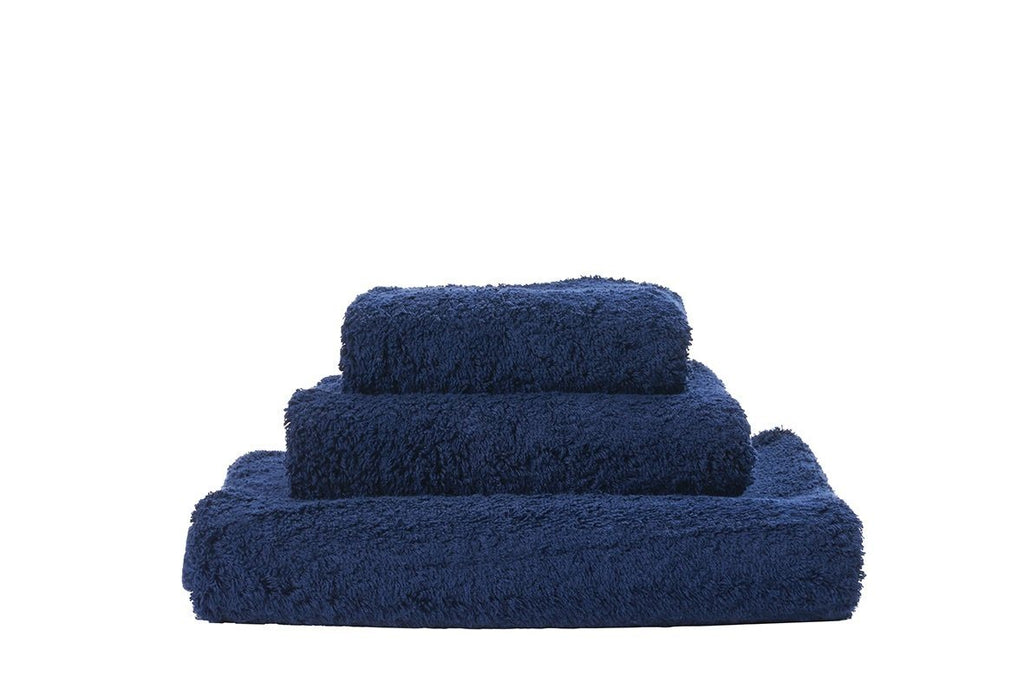 Abyss Super Pile Blue Night Towels - Fig Linens