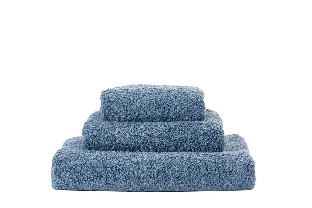 Set of Abyss Super Pile Towels in Blue Stone 306