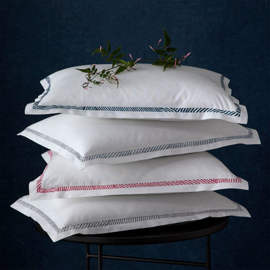 Burnett Border Pillowshams | Matouk Schumacher at Fig Linens