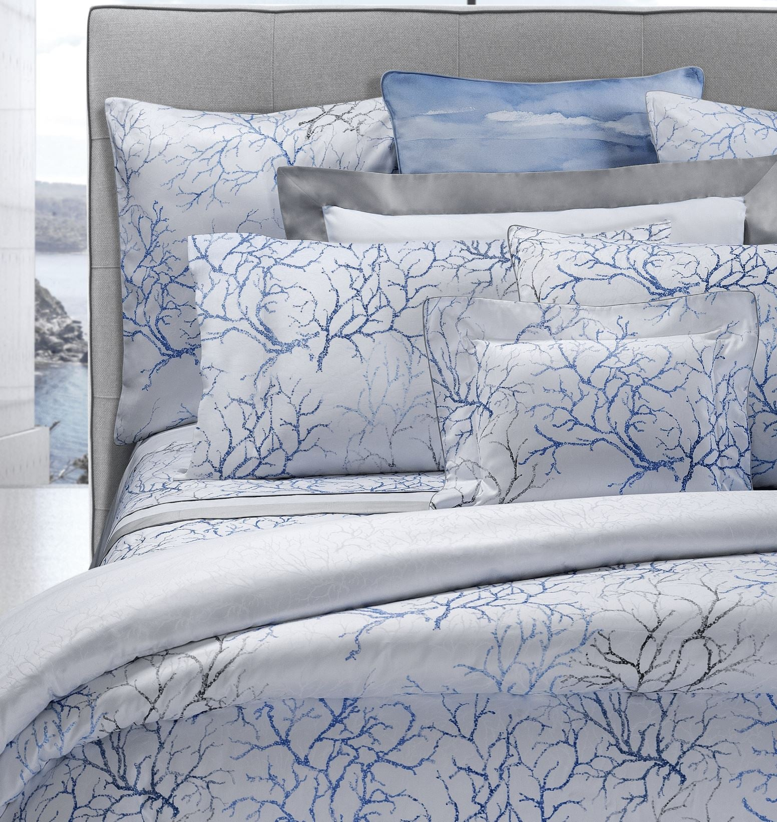 Capalbio Printed Bedding by Dea Linens