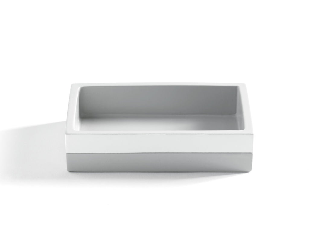 Kassatex Cabana Grey Soap Dish