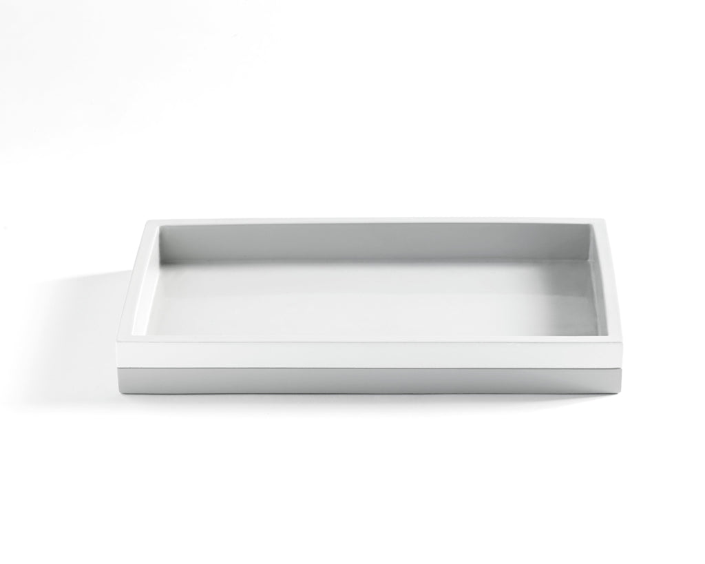 Kassatex Cabana Grey Tray - Fig Linens