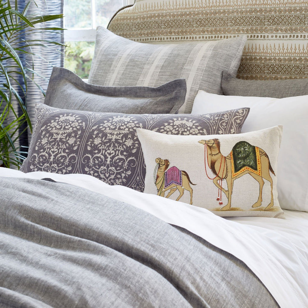 Camel Pillow by John Robshaw | Fig Linens and Home