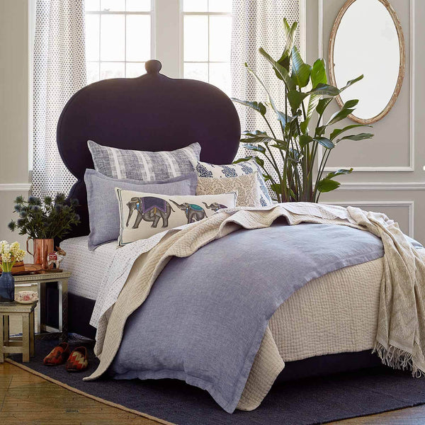 Vivada Sand Coverlet with Bedding by John Robshaw | Fig Linens and Home