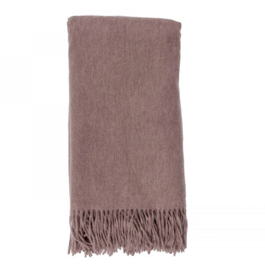Cashmere Throw in Mushroom by Alashan - Fig Linens and Home
