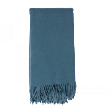 Cashmere Throw in Evening Sky by Alashan - Fig Linens and Home