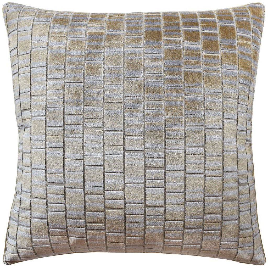 Cask Brass Decorative Pillow