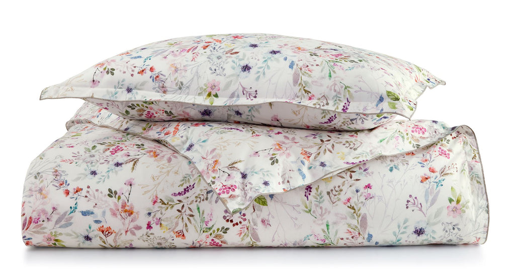Chloe Floral Duvet Cover and Shams by Peacock Alley