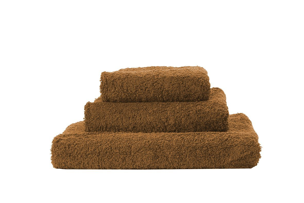 Set of Abyss Super Pile Towels in Cognac 735