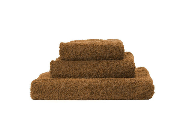 Abyss Super Pile Cognac Towels - Fig Linens