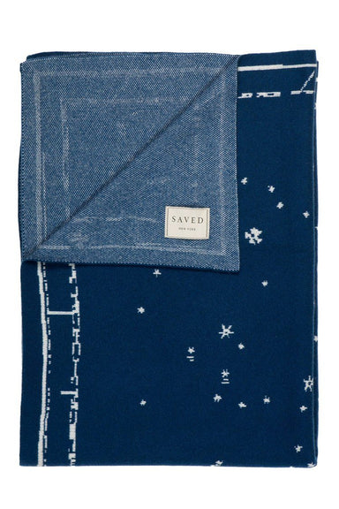 Saved NY Constellation Throw