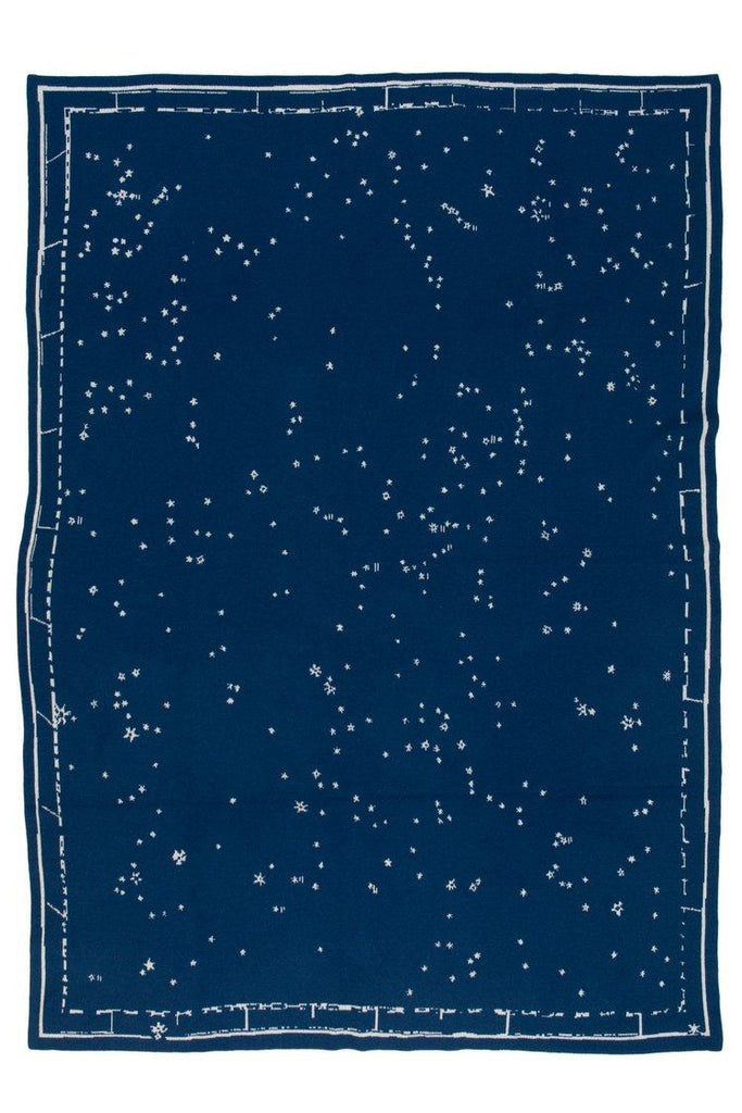 Saved NY Constellation Throw at Fig Linens