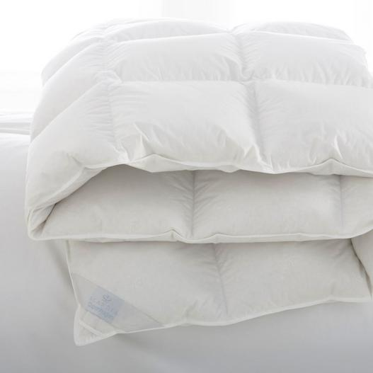 Copenhagen White Down Comforter by Scandia | Fig Linens