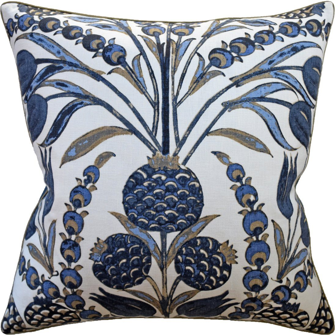 Cornelia Navy Pillow Ryan Studio