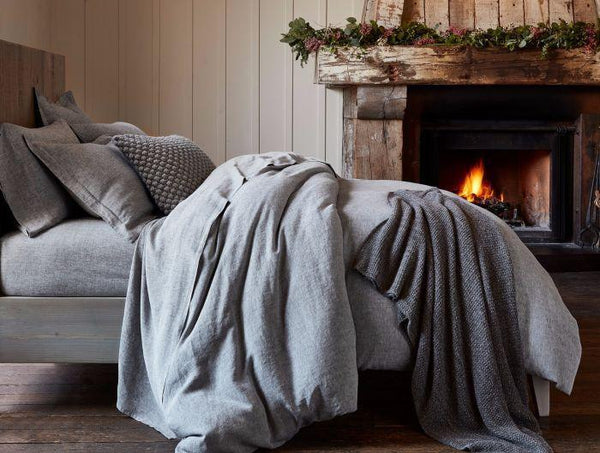 Organic Linen Chambray - Coyuchi Duvets, Sheets, Shams | Fig Linens