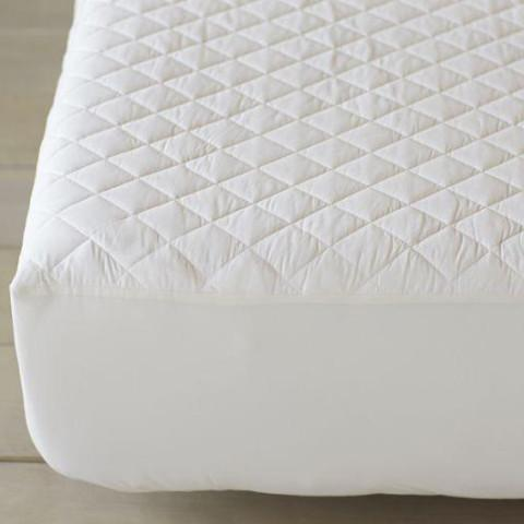 100% Organic Cotton Mattress Pad - Coyuchi - GOTS certified