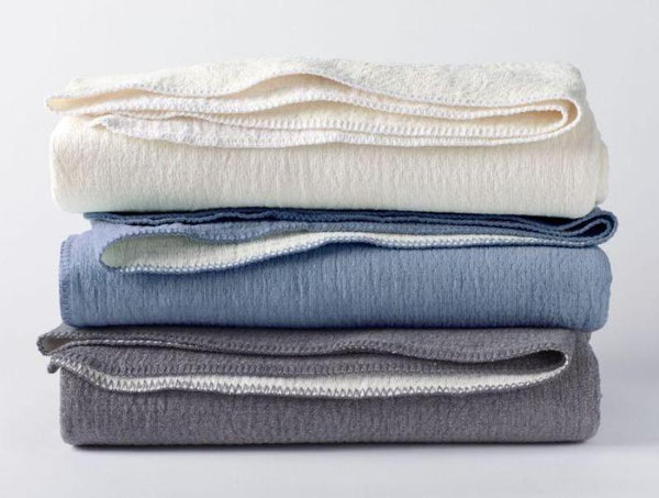 Cozy Cotton Organic Blankets by Coyuchi - Fig Linens