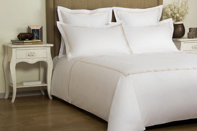 Frette Hotel Cruise Champagne Bedding | Fig Linens