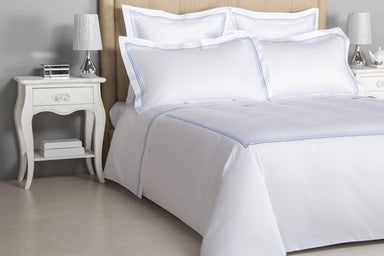 Frette Hotel Cruise Sky Blue Bedding | Fig Linens