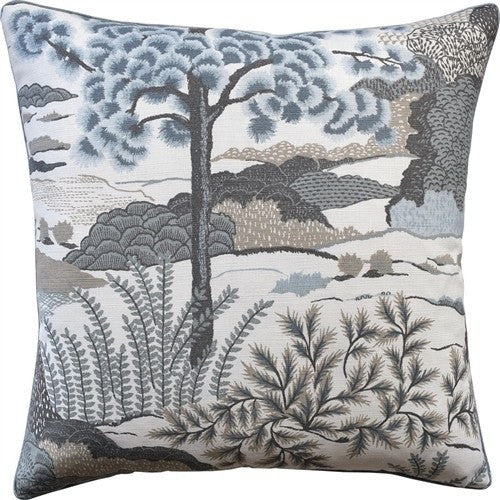 Daintree Aqua Throw Pillow - Ryan Studio-Fig Linens