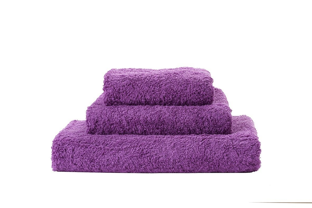 Abyss Super Pile Dalhia Towels - Fig Linens
