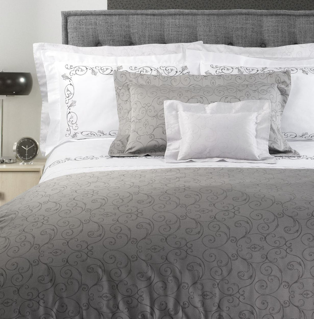 Broccato Embroidery Bedding | Dea Fine Linens