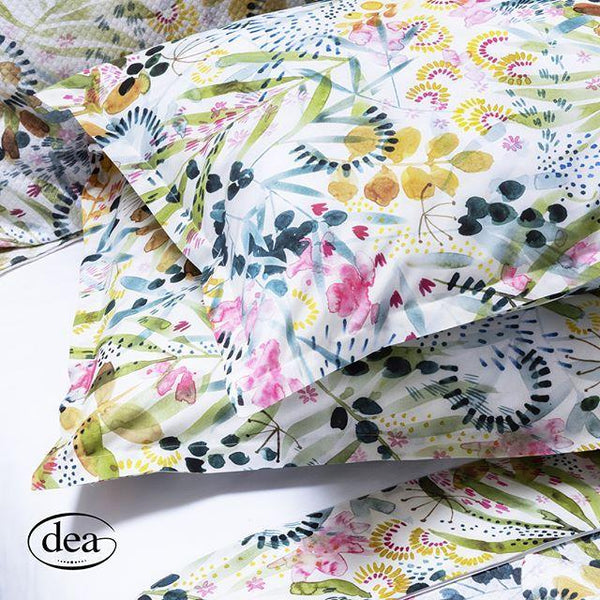 Selvaggia Printed Bedding by Dea Linens | Sham Detail