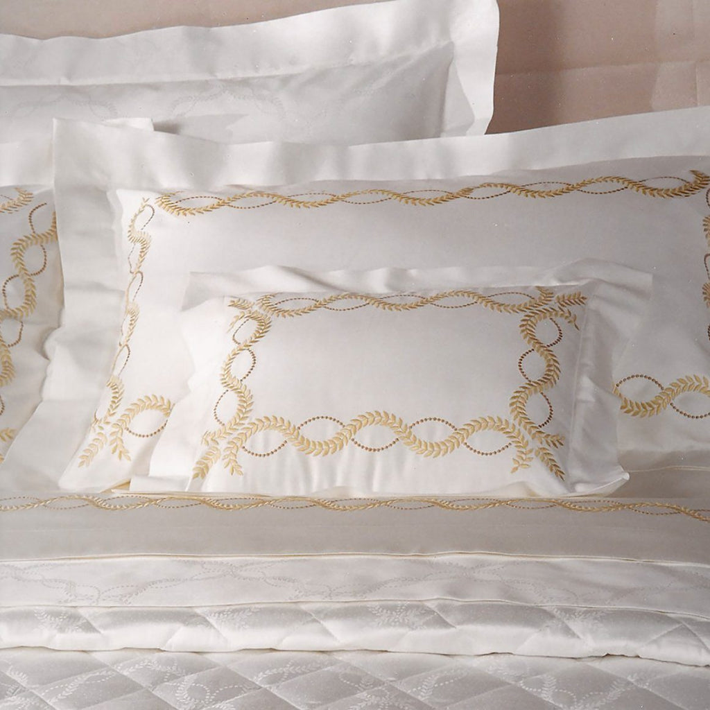 Diana Embroidery Bedding | Dea at Fig Linens and Home