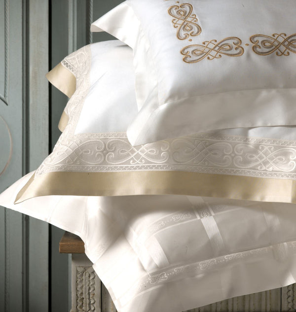 Gianna Embroidery Bedding | Dea Linens Duvets, Shams, Sheets