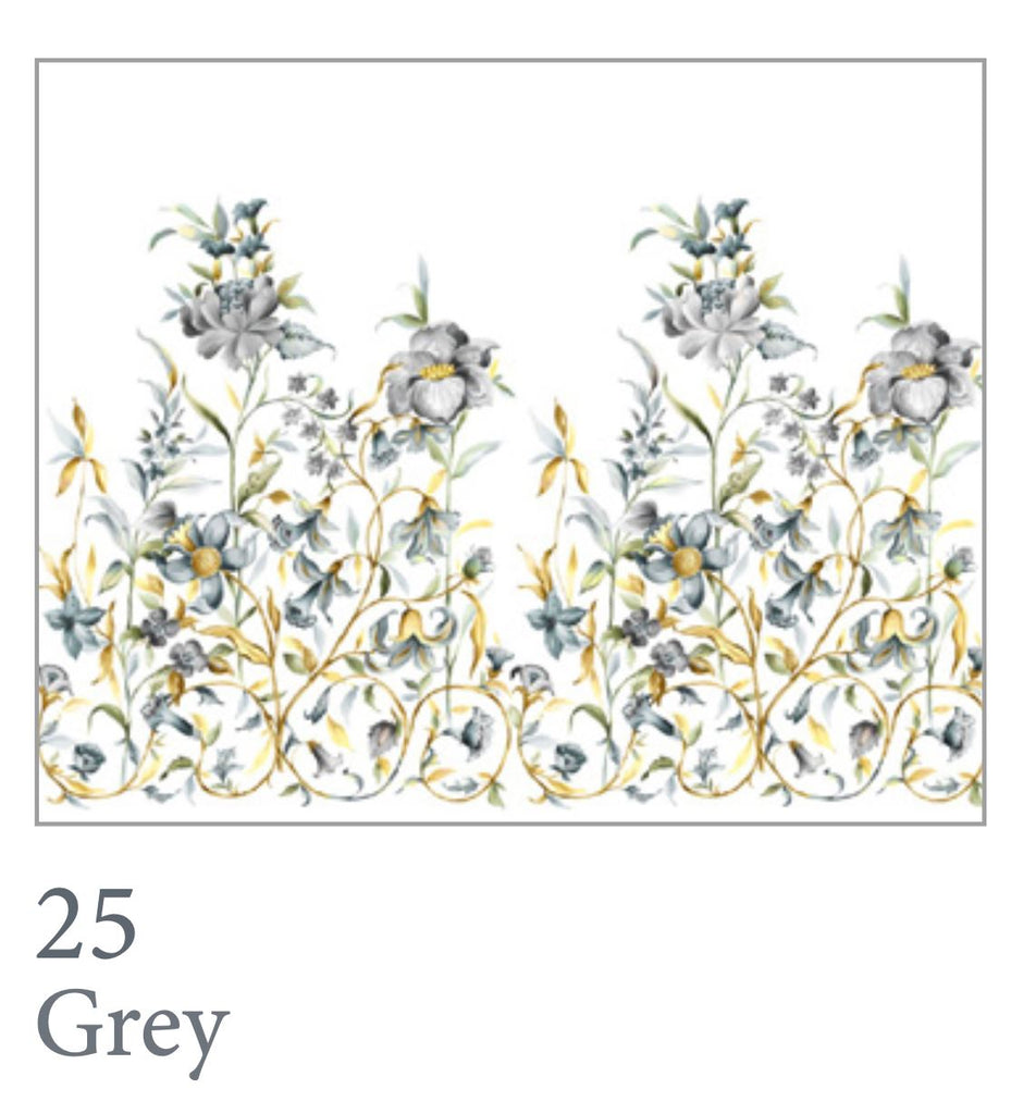 Liberty Bedding Swatch in Charcoal Grey - Dea Linens
