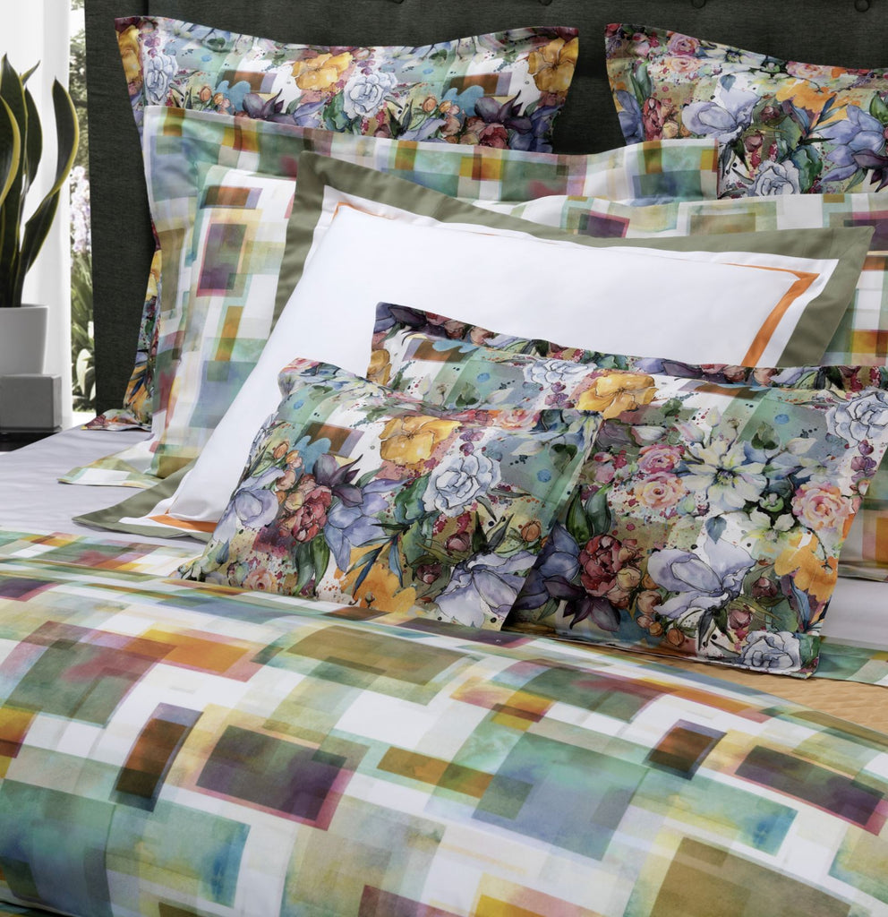 Murano Printed Bedding by Dea Linens | 2 Colors of Luxury Bedding