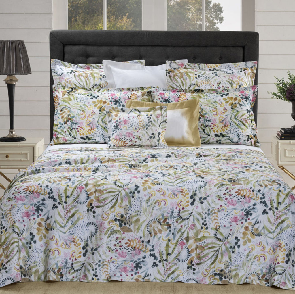 Selvaggia Printed Bedding by Dea Linens | Luxury Bedding at Fig Linens