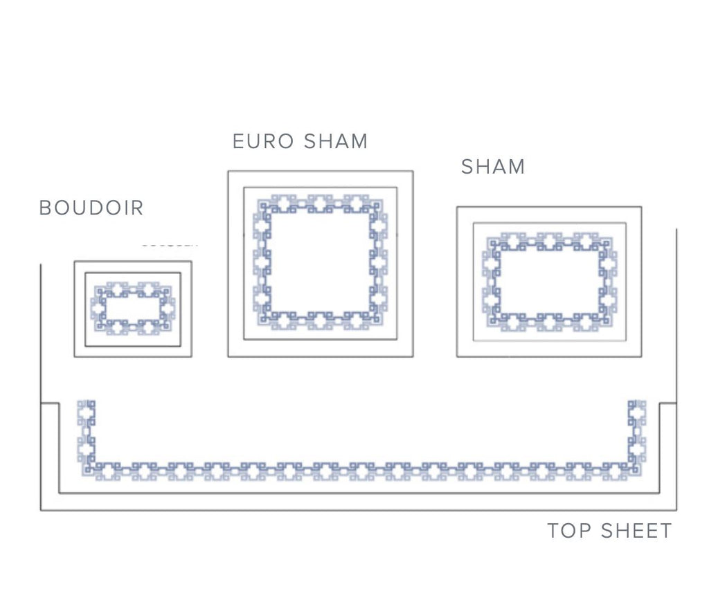 Carrara Embroidered Bedding - Layout 1 -Dea Fine Linens