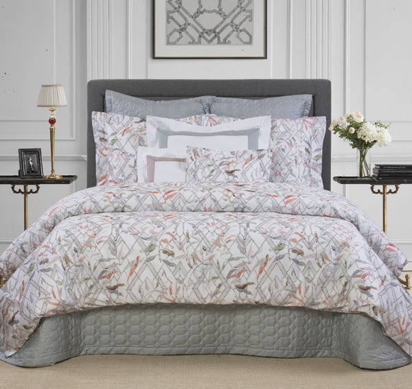 Gazebo Grey Bedding | Dea at Fig Linens and Home