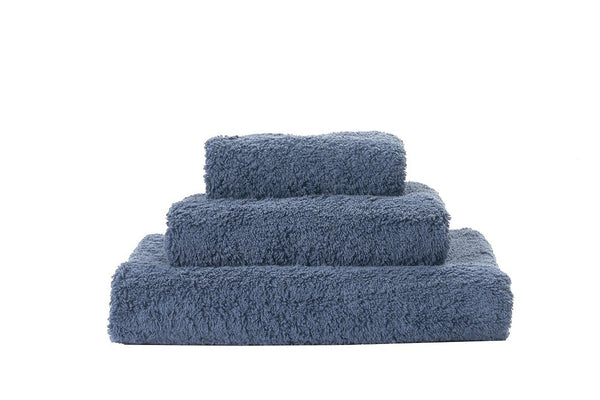 Abyss Super Pile Denim Towels - Fig Linens