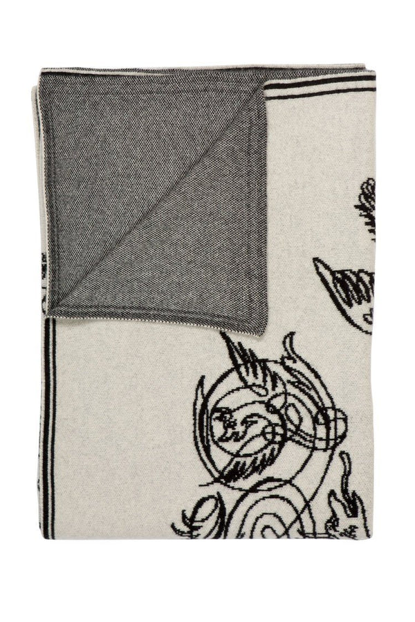 Saved NY Elephant & Friends - Cashmere Throw at Fig Linens